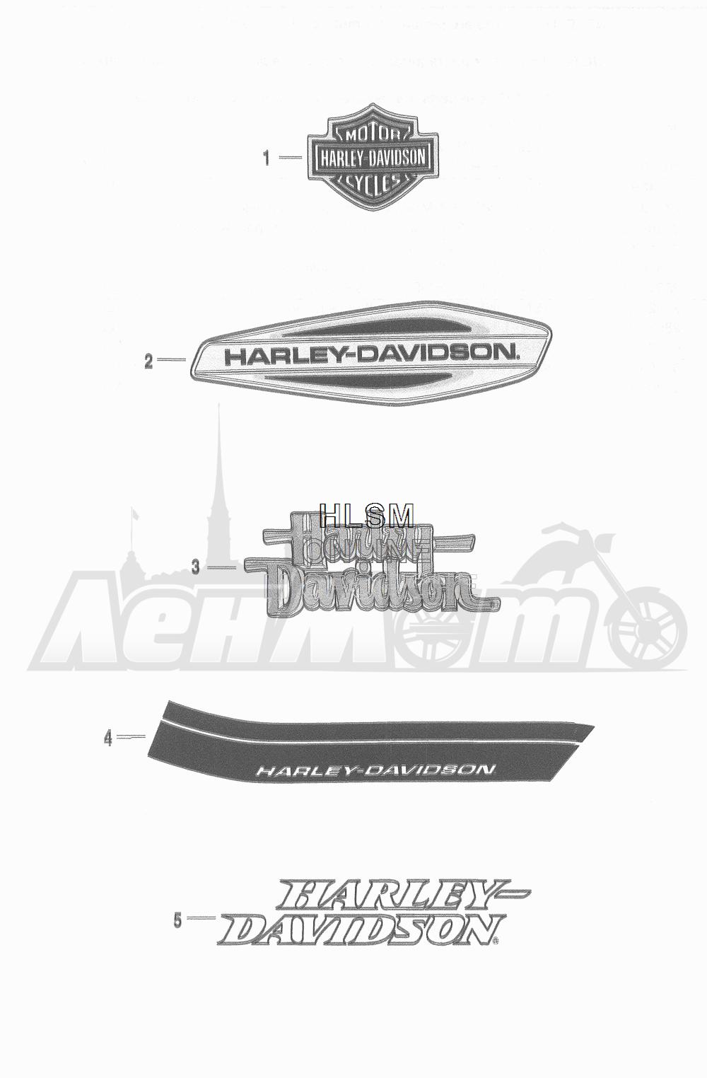 Запчасти для Мотоцикла Harley-Davidson 2016 FLD DYNA 103 SWITCHBACK (GZM) Раздел: FUEL TANK DECALS AND NAME PLATES | топливный бак наклейки и фирменные таблички