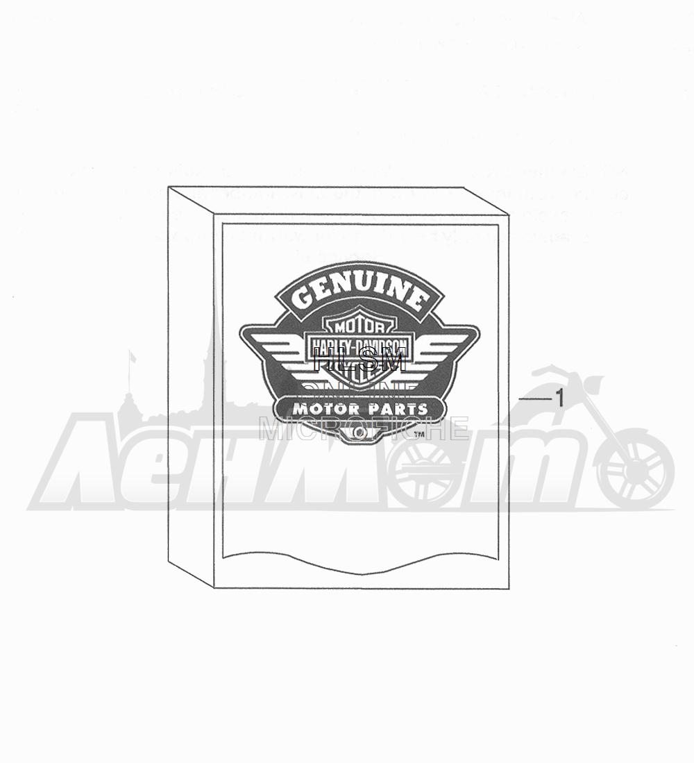 Запчасти для Мотоцикла Harley-Davidson 2016 FLHR ROAD KING (FBM) Раздел: LOOSE PARTS - 1 | дополнительные детали 1