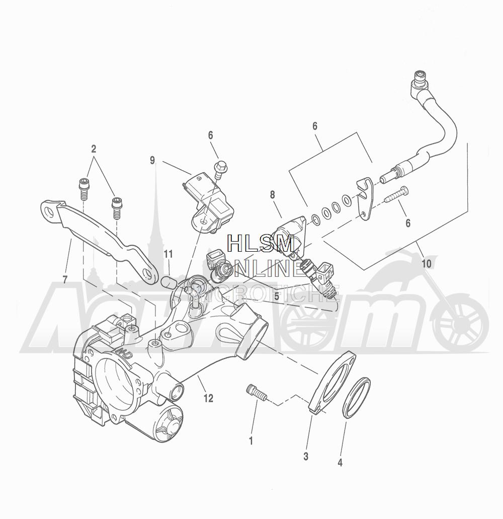 Запчасти для Мотоцикла Harley-Davidson 2016 FLHR ROAD KING (FBM) Раздел: THROTTLE BODY - INDUCTION MODULE | дроссельный узел индукционный модуль