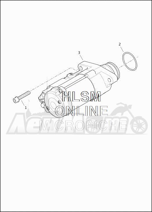Запчасти для Мотоцикла Harley-Davidson 2019 FLHTCUTG TRI GLIDE ULTRA (MA) Раздел: ELECTRICAL - STARTER ASSEMBLY | электрика стартер в сборе
