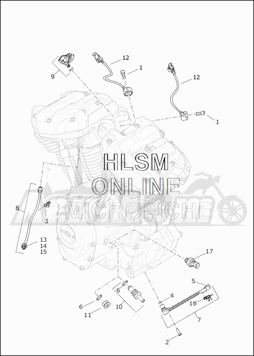 Запчасти для Мотоцикла Harley-Davidson 2019 FLHTK ULTRA LIMITED SHRINE (KN) Раздел: ELECTRICAL - SWITCHES AND SENSORS | электрика выключатели, переключатели и датчики