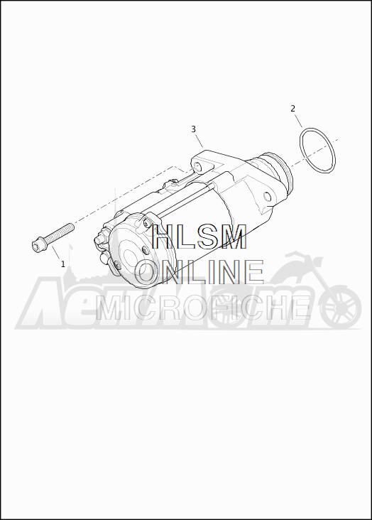 Запчасти для Мотоцикла Harley-Davidson 2019 FLHTKSE CVO LIMITED MILWAUKEE EIGHT (TE) Раздел: ELECTRICAL - STARTER ASSEMBLY | электрика стартер в сборе