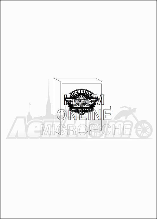 Запчасти для Мотоцикла Harley-Davidson 2019 FLHX STREET GLIDE (KB) Раздел: OPTIONAL PARTS | опционально детали