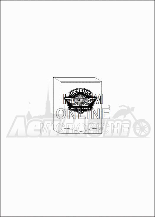 Запчасти для Мотоцикла Harley-Davidson 2019 FLHXSE CVO STREET GLIDE (PX) Раздел: OPTIONAL PARTS | опционально детали