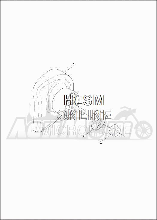Запчасти для Мотоцикла Harley-Davidson 2019 FLHXSE CVO STREET GLIDE (PX) Раздел: MIRROR ASSEMBLY | зеркало в сборе