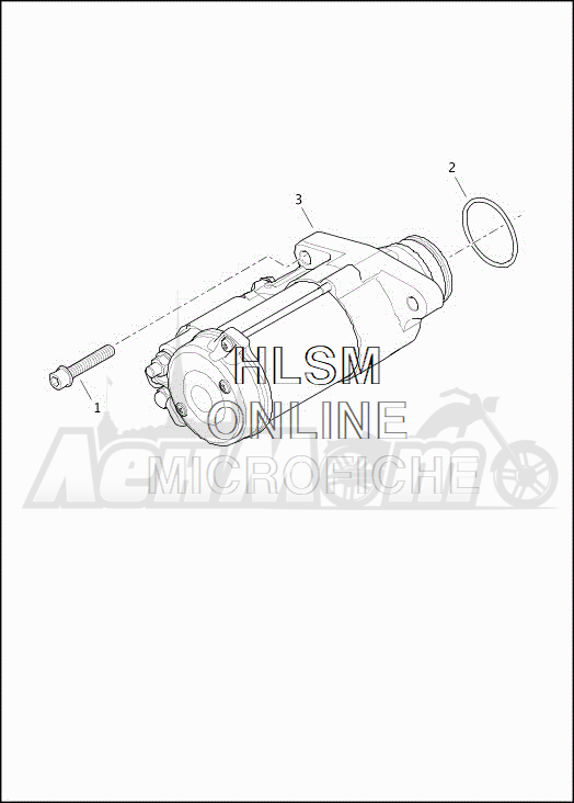 Запчасти для Мотоцикла Harley-Davidson 2019 FLRT FREEWHEELER (MC) Раздел: ELECTRICAL - STARTER ASSEMBLY | электрика стартер в сборе