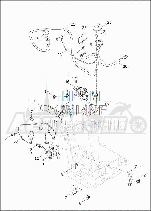 Запчасти для Мотоцикла Harley-Davidson 2019 FLRT FREEWHEELER (MC) Раздел: ELECTRICAL - REVERSE CONTROL MODULE   электрика задний ход управление модуль