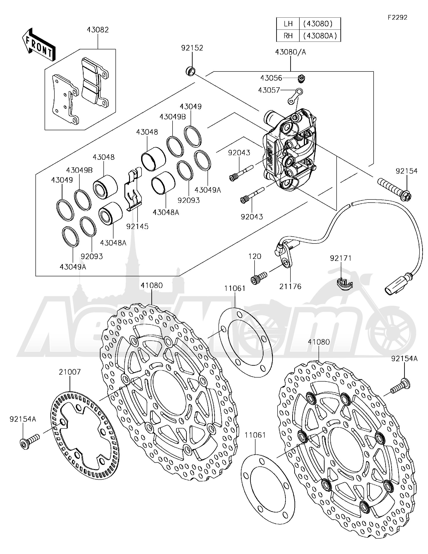 2006 Zx6r Parts Diagram