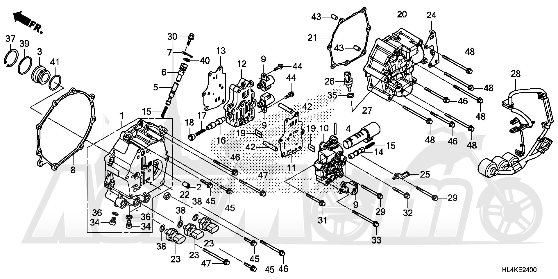 Запчасти для Квадроцикла Honda 2019 SXS1000M5L Раздел: SOLENOID VALVE | реле, соленоид клапан