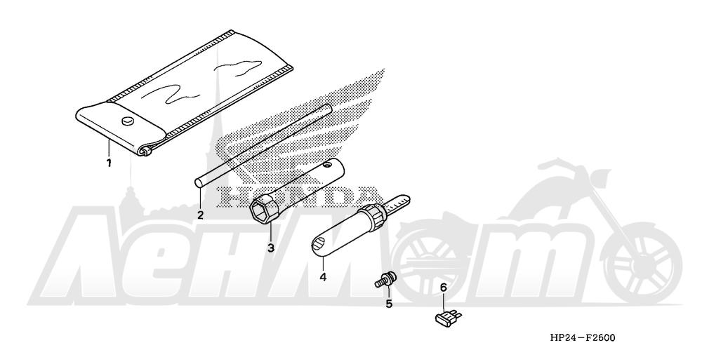 Запчасти для Квадроцикла Honda 2008 TRX90EX Раздел: TOOL | инструмент