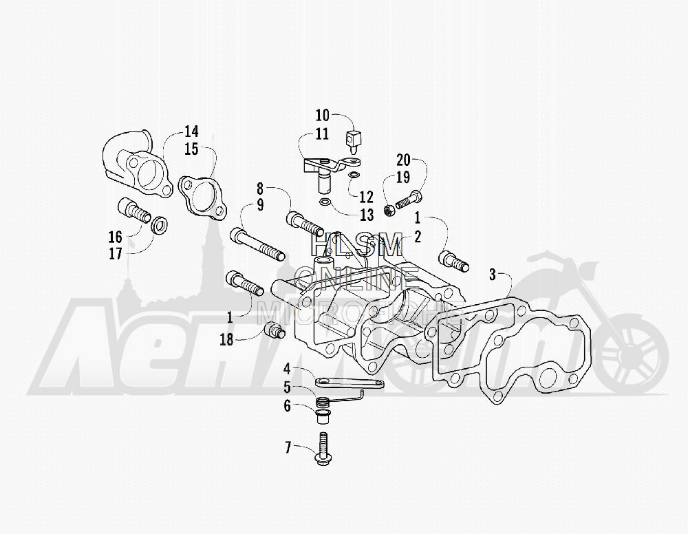 Запчасти для Квадроцикла Arctic Cat 2011 700 DIESEL GREEN [A2011ITBT4DUSG] Раздел: INTAKE MANIFOLD AND THROTTLE CONTROL ASSEMBLY | впускной коллектор и дроссель управление в сборе