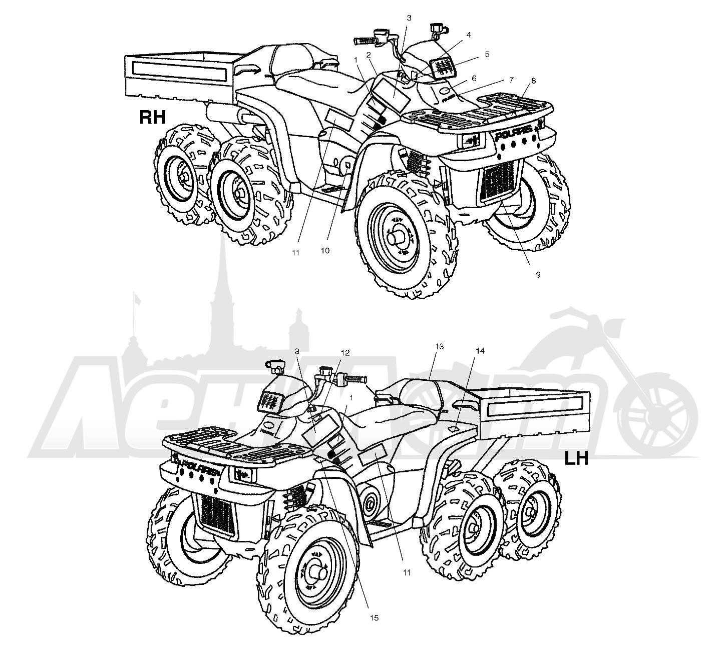 картинки с чертежами квадроциклов работы встроенных может