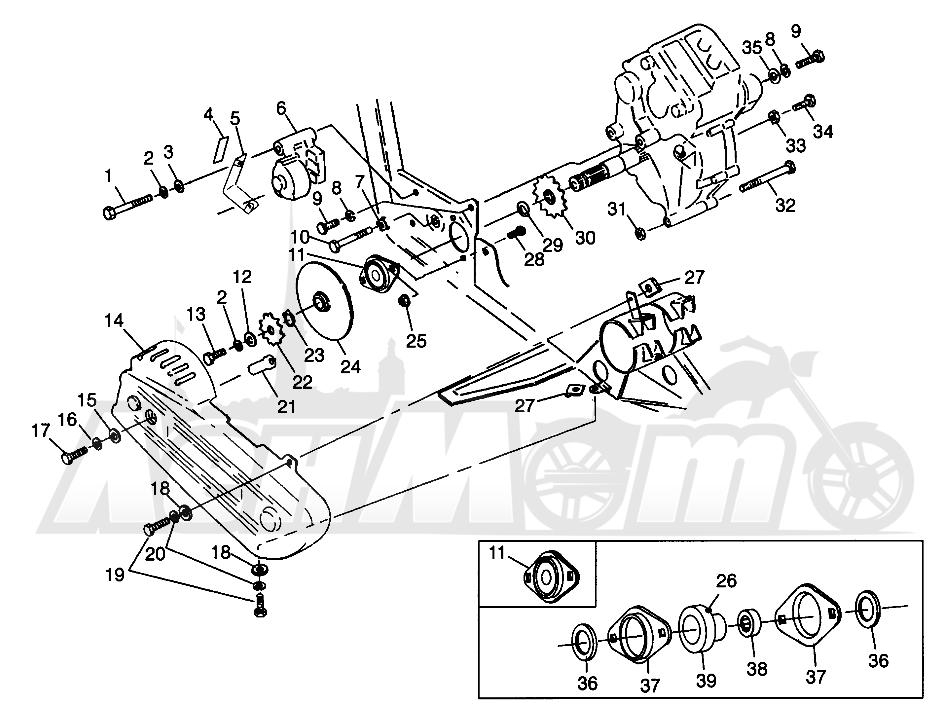 1995 Polaris Magnum 425 Wiring Diagram