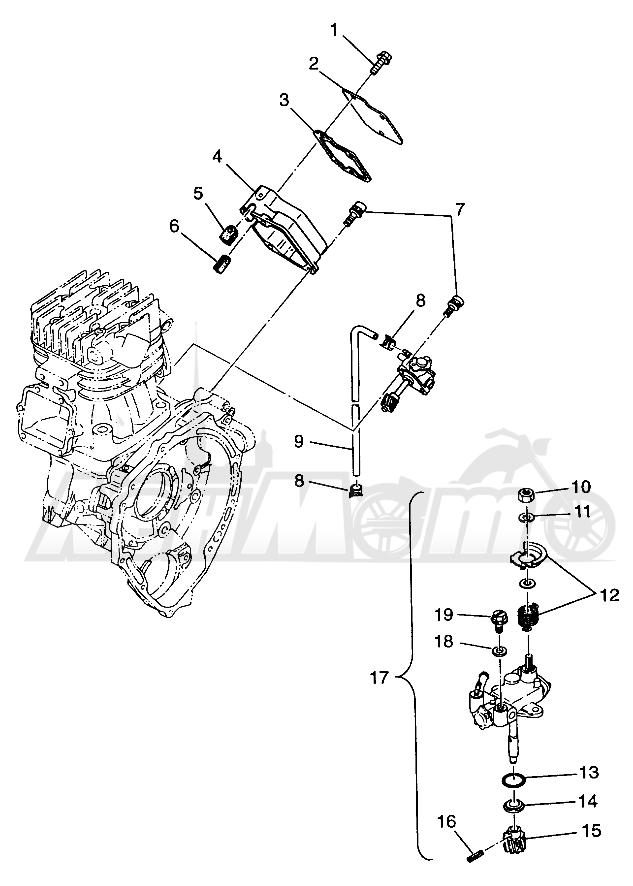 Запчасти для Квадроцикла Polaris 1997 SCRAMBER 400L - W97BC38C Раздел: OIL PUMP SCRAMBLER 400L W97BC38C | маслянный насос SCRAMBLER 400L W97BC38C