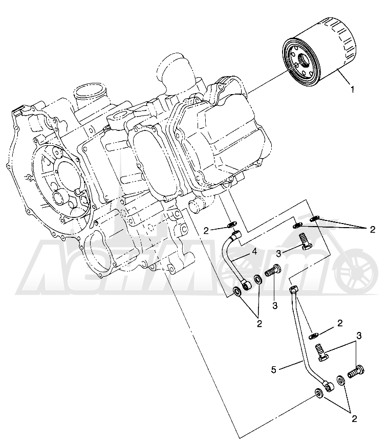 Запчасти для Квадроцикла Polaris 1997 SCRAMBLER 500 - W97BC50A Раздел: OIL FILTER SCRAMBLER 500 W97BC50A | масляный фильтр SCRAMBLER 500 W97BC50A