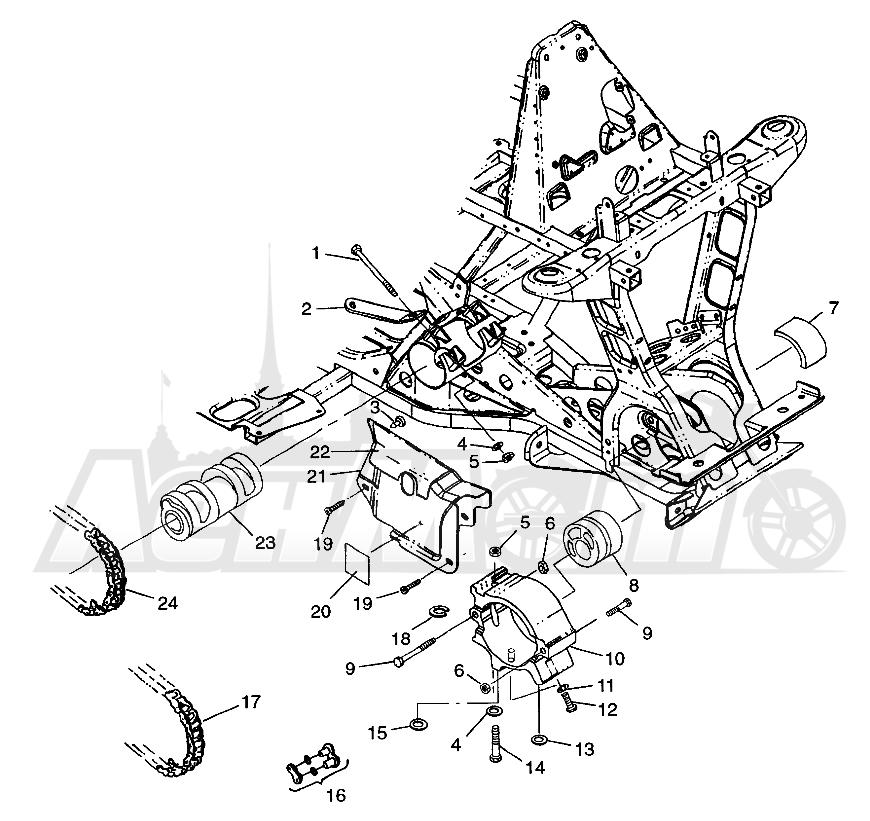 Запчасти для Квадроцикла Polaris 1997 SPORTSMAN 400L - W97AC38C Раздел: FRONT DRIVE SPORTSMAN 400L W97AC38C   перед привод SPORTSMAN 400L W97AC38C