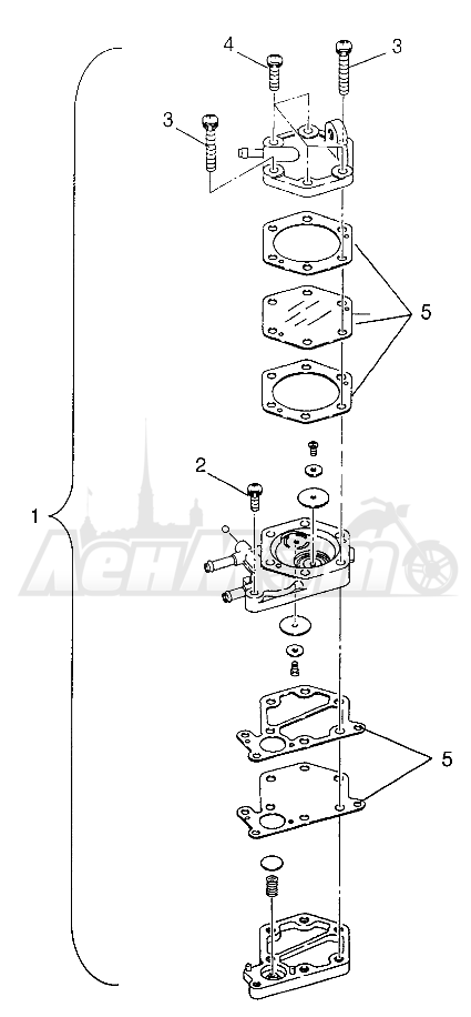 Запчасти для Квадроцикла Polaris 1997 SPORTSMAN 500 - W97CH50A Раздел: FUEL PUMP SPORTSMAN 500 W97CH50A   топливный насос SPORTSMAN 500 W97CH50A