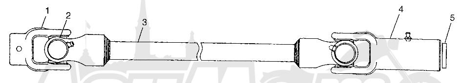 Запчасти для Квадроцикла Polaris 1997 SPORTSMAN 500 - W97CH50A Раздел: PROP SHAFT SPORTSMAN 500 W97CH50A | карданный вал SPORTSMAN 500 W97CH50A