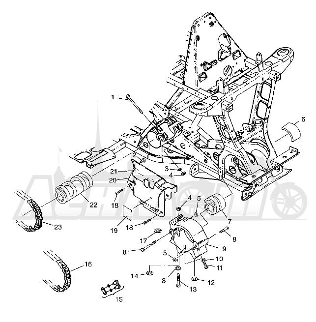 Запчасти для Квадроцикла Polaris 1997 SWEDISH MAGNUM 4X4 - S97AC42E Раздел: FRONT DRIVE MAGNUM 4X4 W97AC42A, SWEDISH MAGNUM 4X4 S97AC42E AND NORWEGIAN | перед привод MAGNUM 4X4 W97AC42A, SWEDISH MAGNUM 4X4 S97AC42E и NORWEGIAN