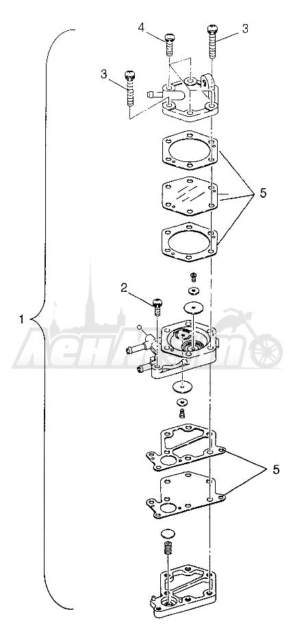 Запчасти для Квадроцикла Polaris 1997 SWEDISH SPORTSMAN 50 - S97CH50E Раздел: FUEL PUMP SPORTSMAN 500 W97CH50A | топливный насос SPORTSMAN 500 W97CH50A