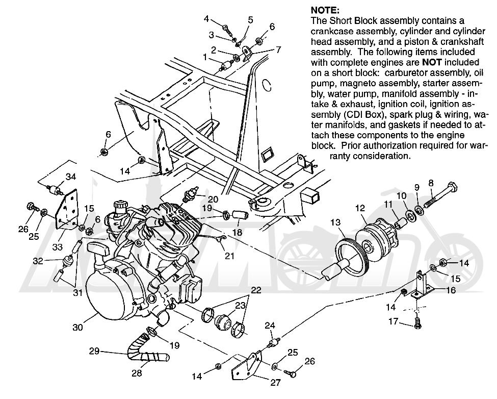 Запчасти для Квадроцикла Polaris 1997 XPLORER 400L - W97CC38C Раздел: ENGINE MOUNTING XPLORER 400L W97CC38C   двигатель крепления XPLORER 400L W97CC38C