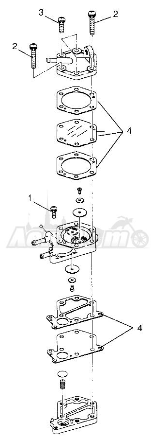 Запчасти для Квадроцикла Polaris 1997 XPLORER 500 - W97CD50A Раздел: FUEL PUMP XPLORER 500 W97CD50A | топливный насос XPLORER 500 W97CD50A