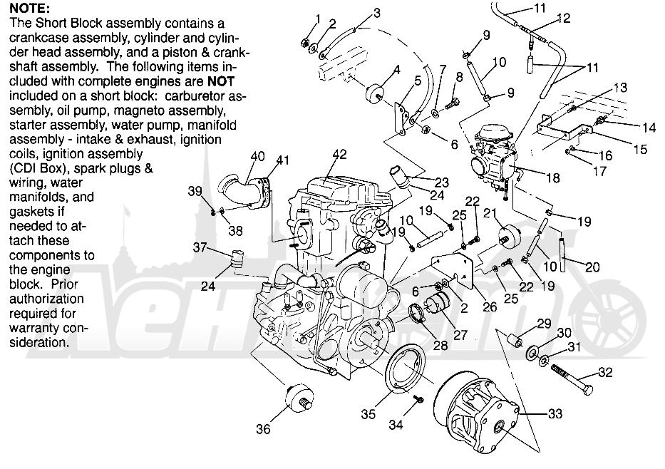 Запчасти для Квадроцикла Polaris 1996 MAGNUM 2X4 - W967544 Раздел: ENGINE MOUNTING MAGNUM 2X4 W967544 | двигатель крепления MAGNUM 2X4 W967544