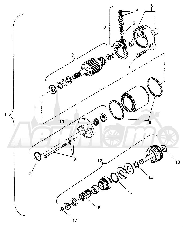 Запчасти для Квадроцикла Polaris 1996 SWEDISH SPORTSMAN 500 - S969244 Раздел: STARTING MOTOR SPORTSMAN 500 W969244 AND SWEDISH SPORTSMAN 500 S969244 | электростартер SPORTSMAN 500 W969244 и SWEDISH SPORTSMAN 500 S969244