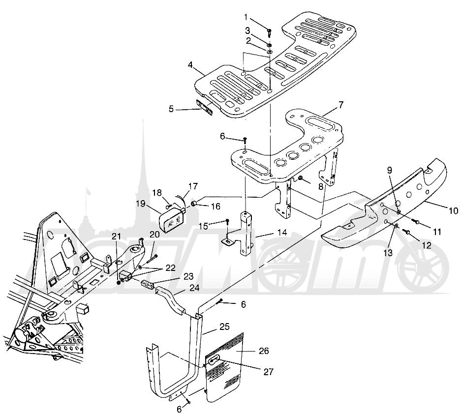 1996 Polaris Xplorer 300 Carburetor Diagram