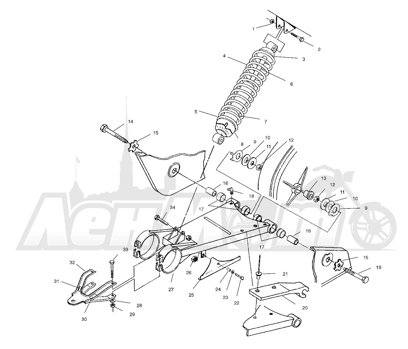Diagram  1996 Polaris Magnum 425 4x4 Wiring Diagram Full