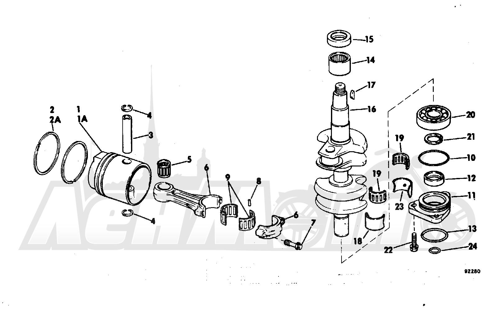 Diagram Of 1982 E90tlcnb Evinrude Fuel Pump Diagram And Parts